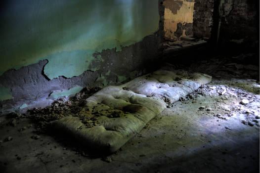 Someone used to sleep here