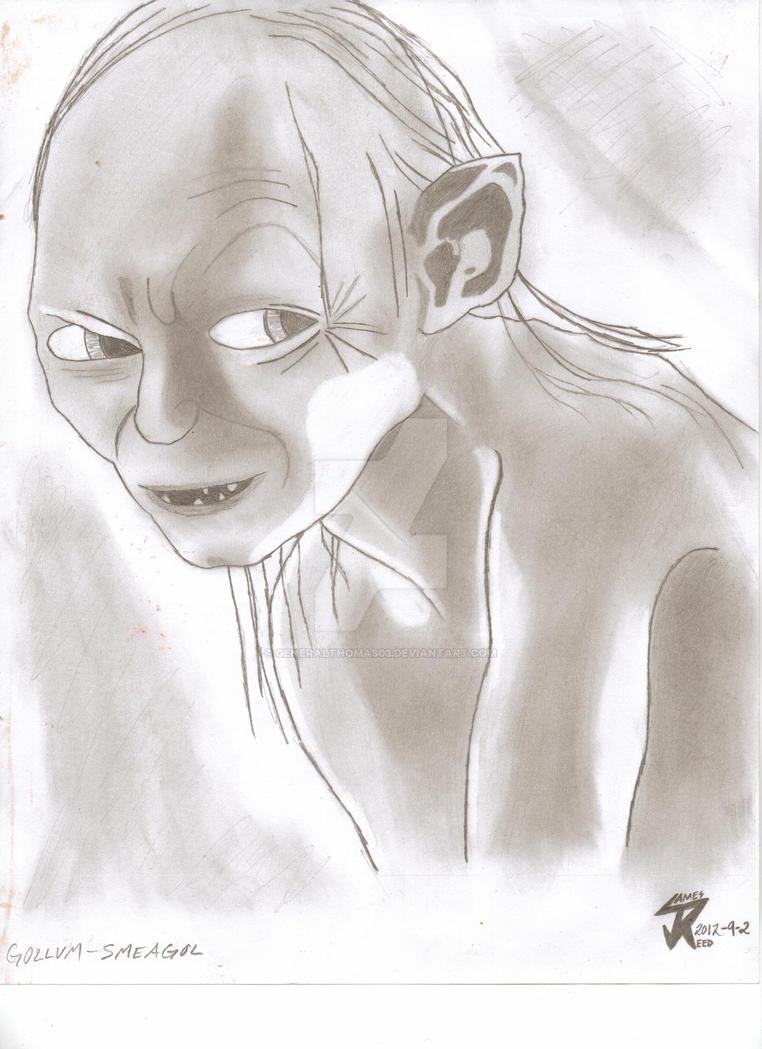 Gollum-Smeagol by GeneralThomas03