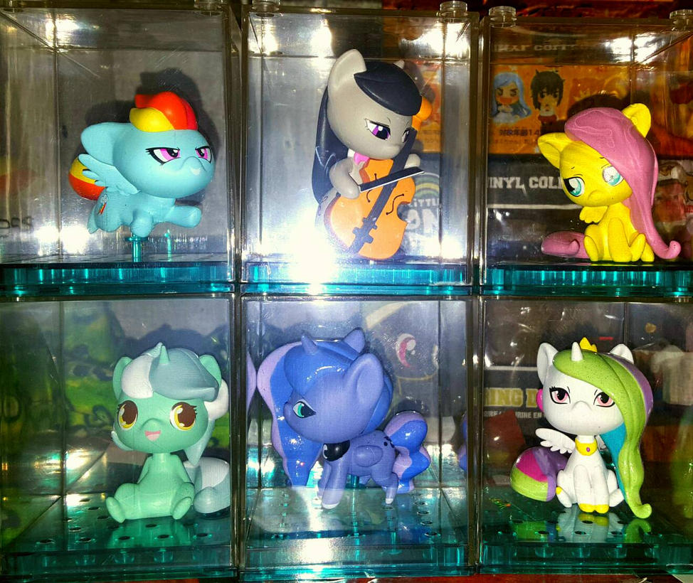 Mlp figures  by WubbingAlex