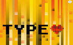 Type Love Typography Wallpaper