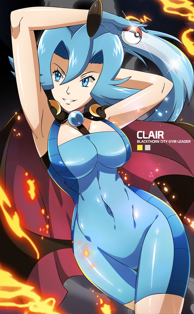 Clair - Pokemon by dmy-gfx