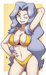 Karen - Pokemon HGSS [Commission]