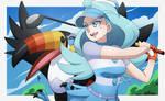 Kahili and Toucannon - Pokemon