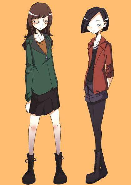 Daria And Jane By Nicohitoride