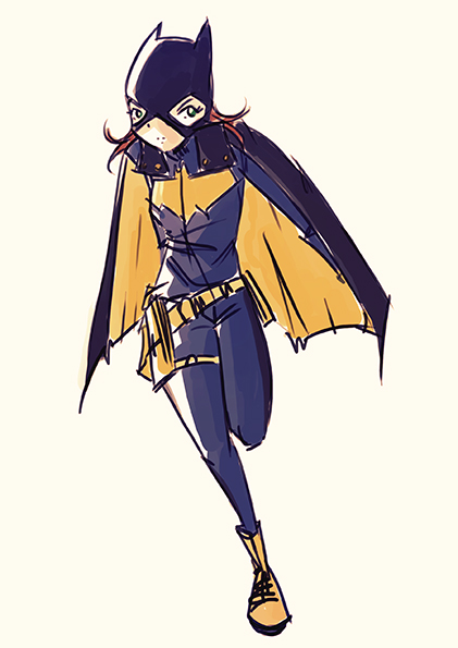 Batgirl by Nicohitoride