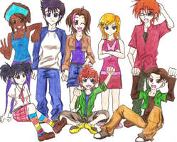 Rugrats AGU the WHOLE gang Yo by asasin8444