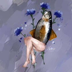 Human Fish RL by ShizukaMapache