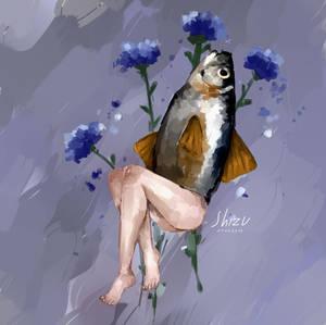 Human Fish RL