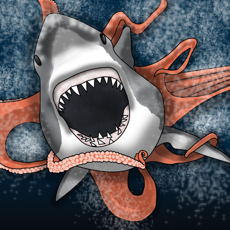 Sharktopus by Cathartis