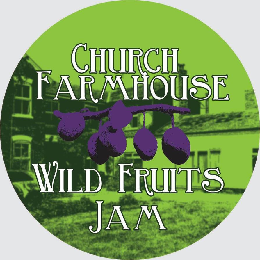 Church Farmhouse Jam Label by Cathartis