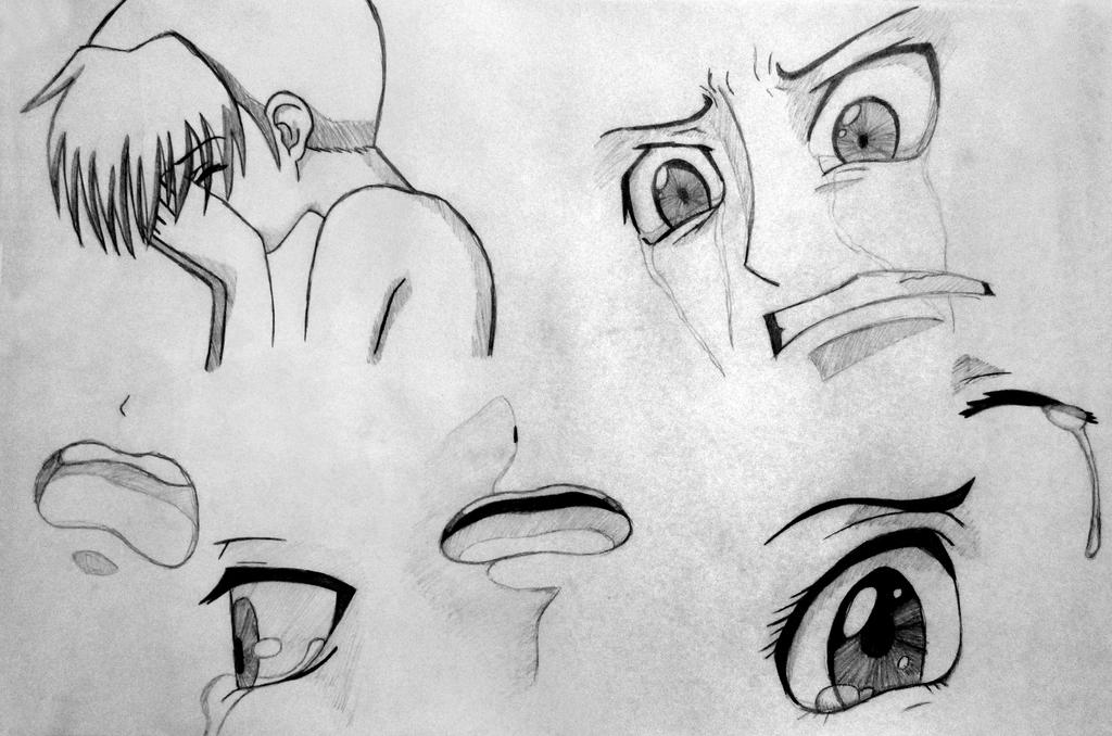 It's just a picture of Irresistible Drawing Of Someone Crying
