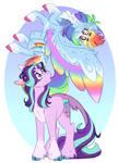 skittle horse and glim glam