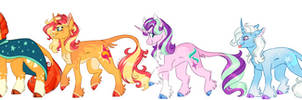 Unicorn Squad Headcanons by WanderingPegasus