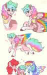 doodles- pinkiedash babeyyyyy!! by WanderingPegasus