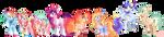 [WANDERVERSE] Pinkiedash/Soarindash Family by WanderingPegasus