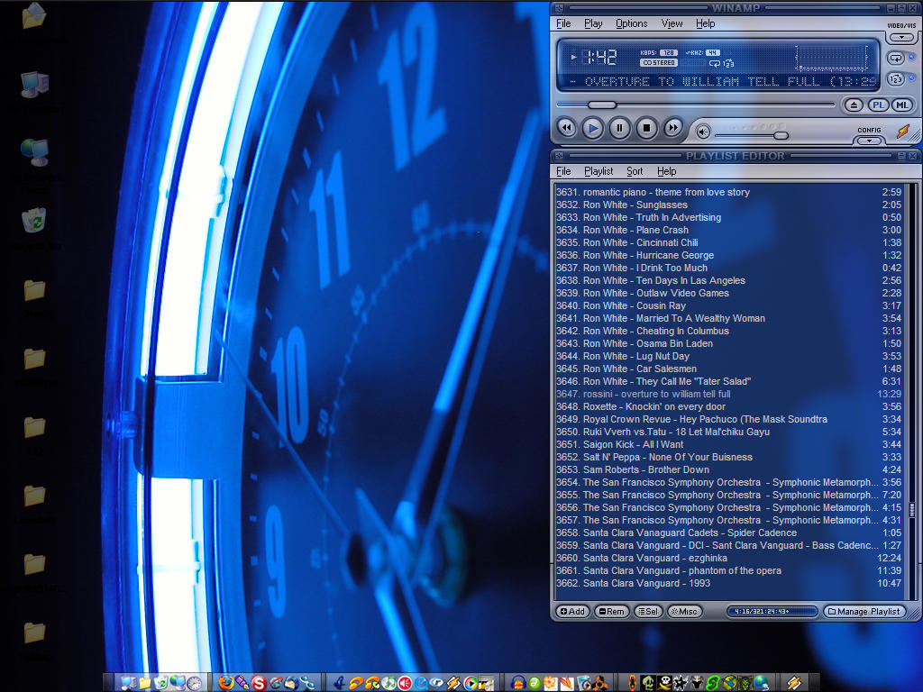Blue Light - Desktop by Stillbored