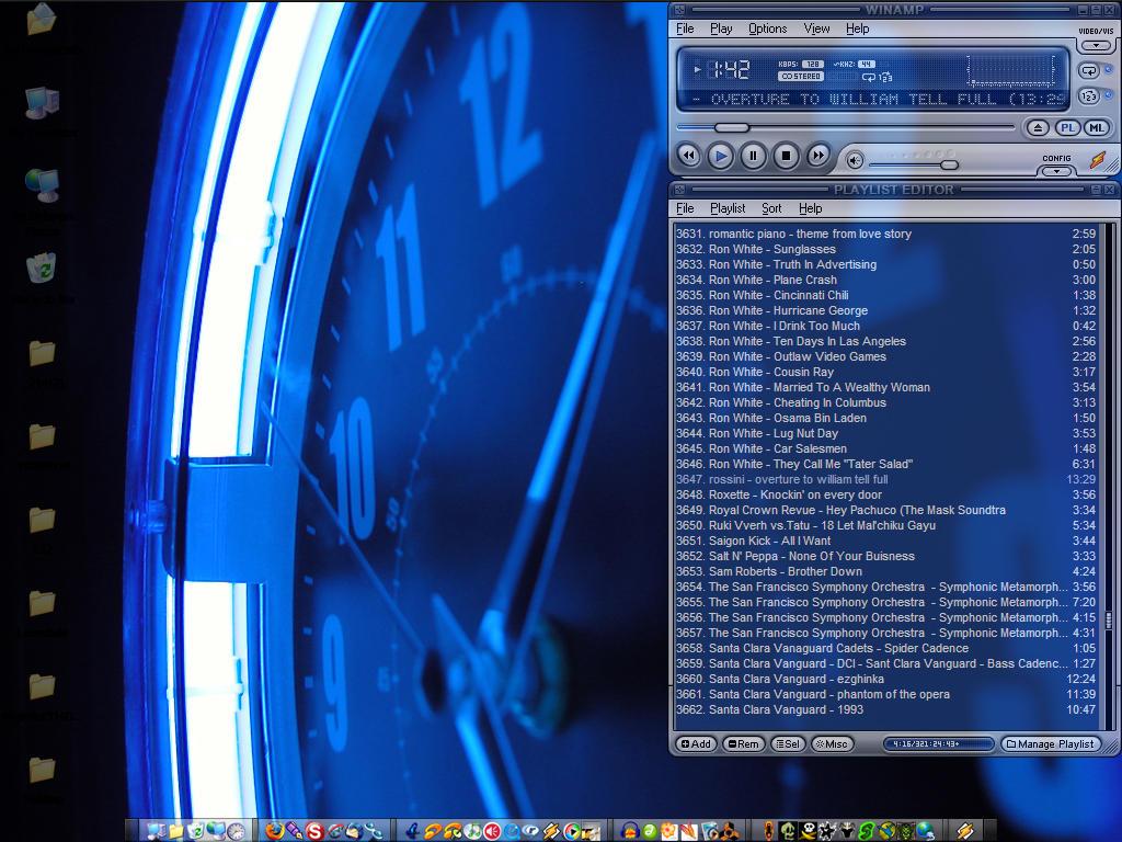 Blue Light - Desktop by Stillbored