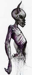 random ghoul by pinkminx09
