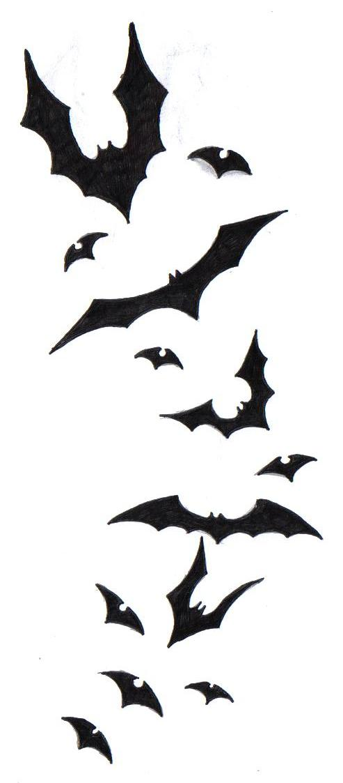 Bat Tattoo Designs