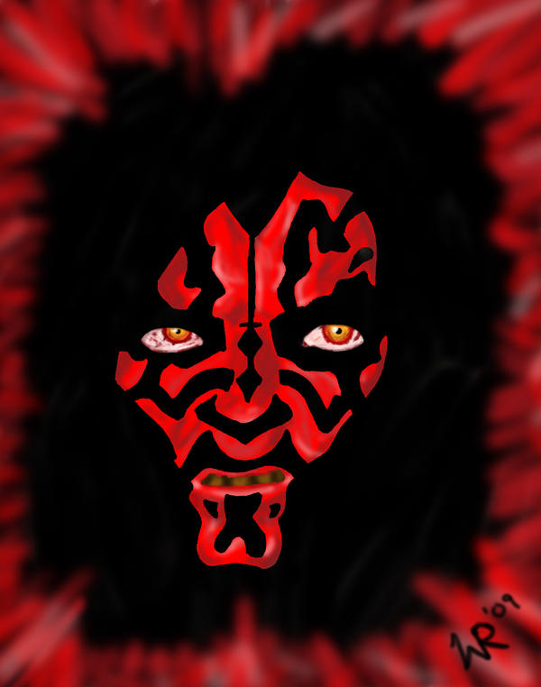 Darth Maul Final by LPRaver89