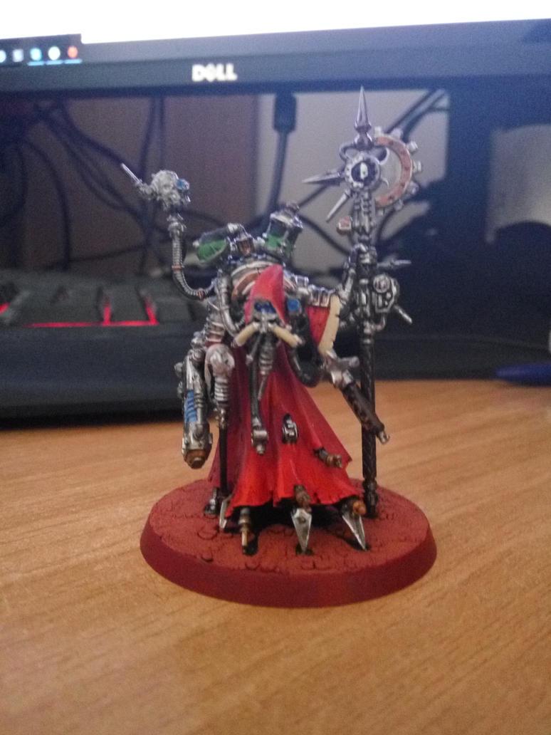 Tech-Priest Dominus 1 by WaMpHiRy
