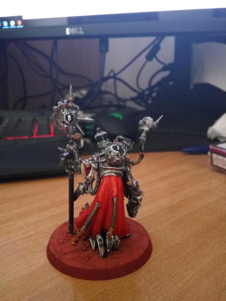 Tech-Priest Dominus 3 by WaMpHiRy