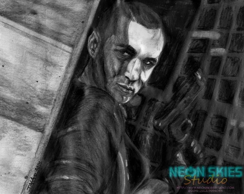NikkySic as Jake Muller (Resident Evil 6) by jalachan