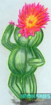 Cactus Flower (Sketch)
