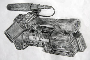 Camcorder on Pencils by appledaniels