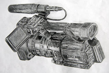 Camcorder on Pencils