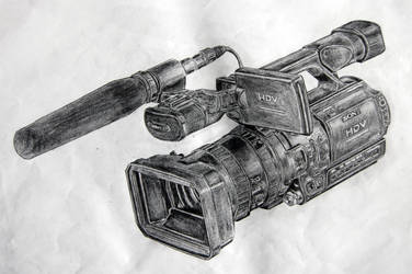 Camcorder on Pencils 2