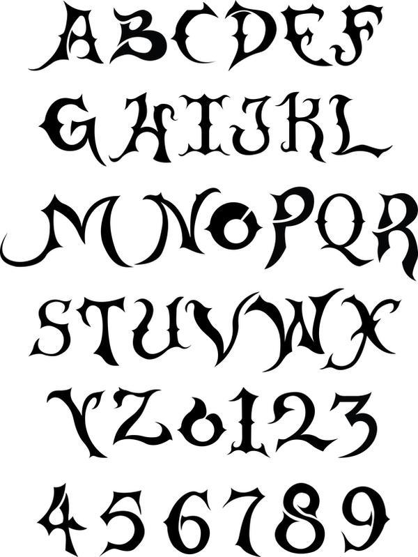 Typography-Theme:- blade by appledaniels