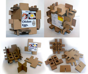 Egg Packaging-Corrugated Card