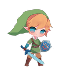 Skyward Sword Link Chibi by jichuux