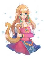 Skyward Sword : Zelda by jichuux
