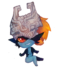 Twilight Princess : Midna by jichuux