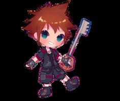 Kingdom Hearts : Sora by jichuux