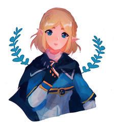 LoZ -BoTW 2 Zelda