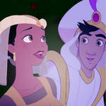 Tiana/Aladdin