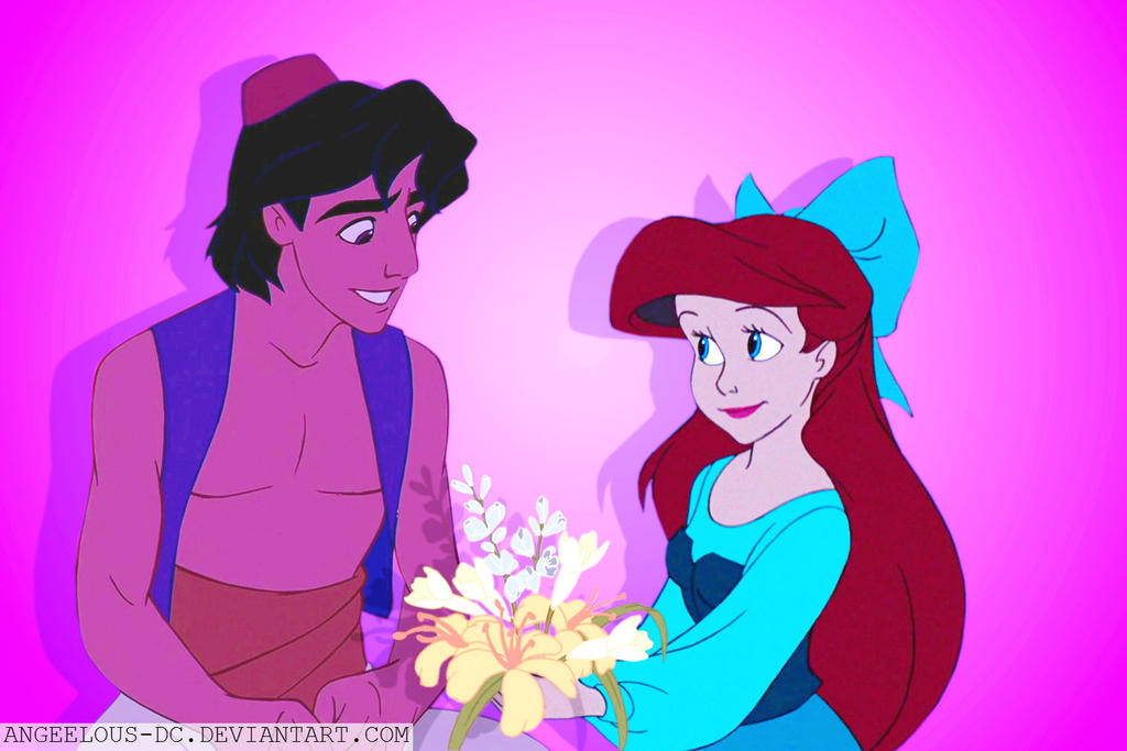 arielaladdin valentines day by angeelous dc