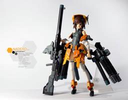 Custom Figma Project: Nadeko Sengoku (revision)
