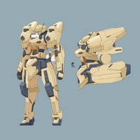 Kryin Mobile Suit by wdy1000