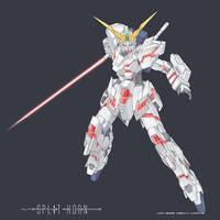 ARD Unicorn Gundam by wdy1000