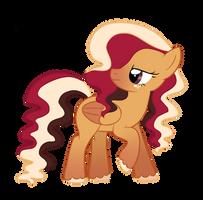 Raspberry Cocoa MLP Show Style by SugahFox