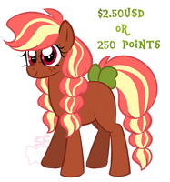 Earth Pony Adopt .OPEN. by SugahFox