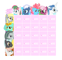 [ADOPT GRID OPEN] Random Ponies by SugahFox