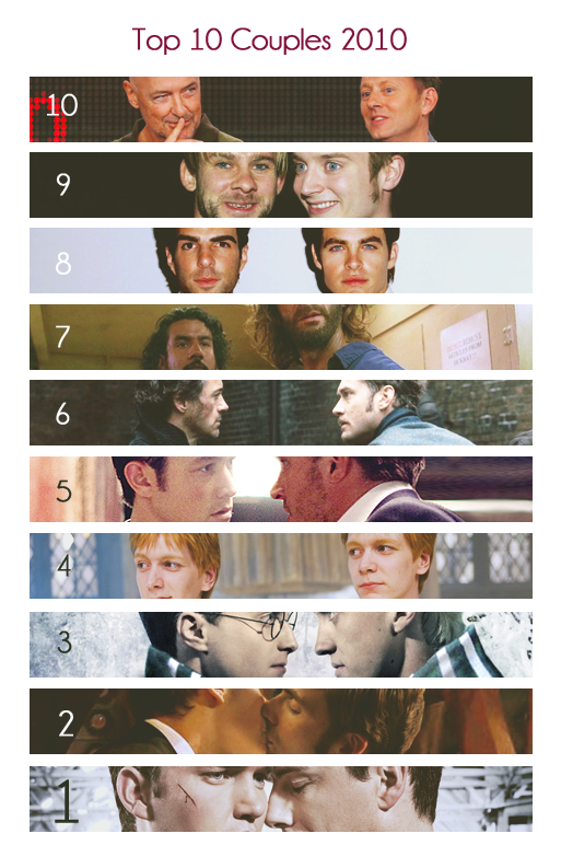 Top 10 couples 2010 by FirstTimeLady