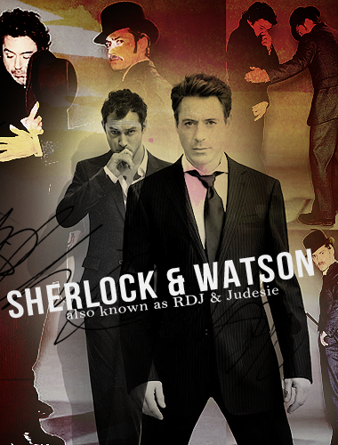 SHerlock and Watson - Blend by FirstTimeLady