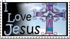 I Love Jesus Stamp by christians