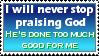 Praising God by christians
